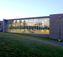 bergland + cram NIACC recreation center exterior view