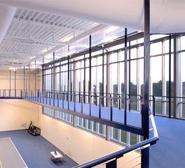 bergland + cram NIACC recreation center running track