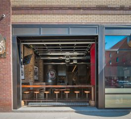 Bismarck Starving Rooster CHA Architecture and Construction Restaurant Bar Design Exterior