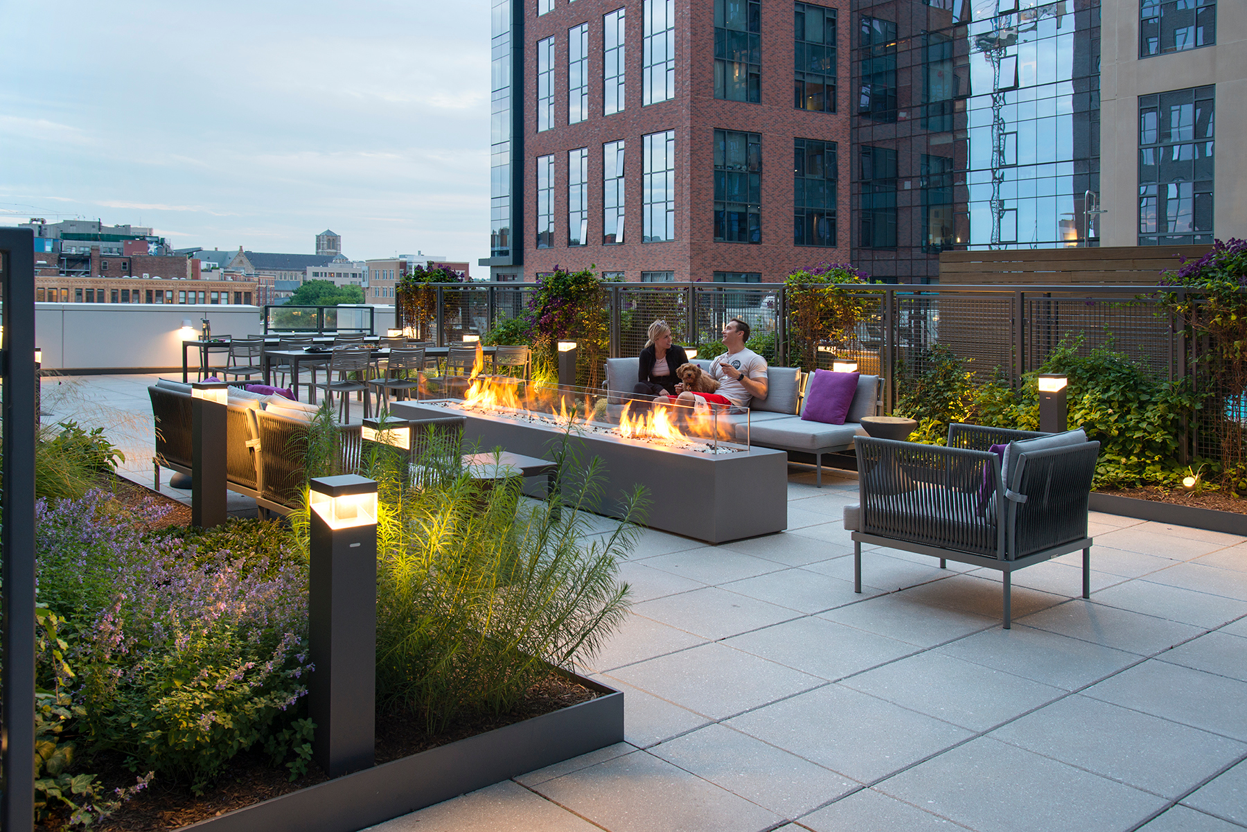 Bison Innovative Products 345 Harrison Rooftop Lounge Design