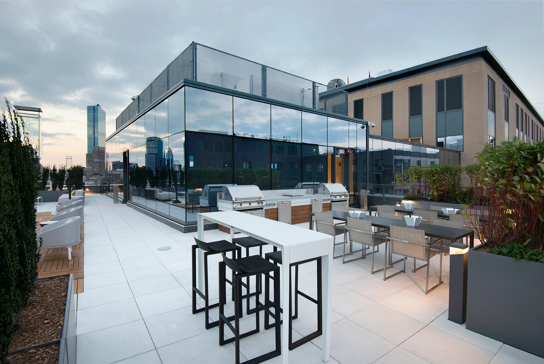 Bison innovative Products 345 Harrison Rooftop Space Design