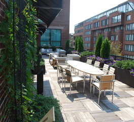 Bison Innovative Products Four Seasons Washington DC Exterior Rooftop Patio Design