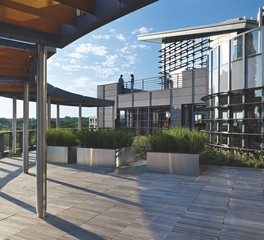 Bison Innovative Products United Therapeutics Rooftop Terrace Design