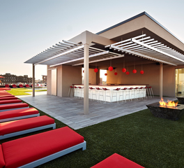 Bison Innovative Products Vida Fitness Penthouse Rooftop Design