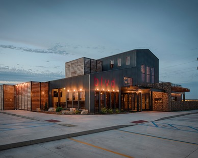CHA Architecture and Construction designed BLVD which is now a popular bar and restaurant design in North Dakota
