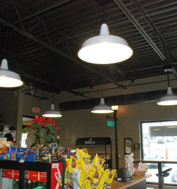 Bock Lighting's standard dome is perfect for interior or exterior commercial spaces.