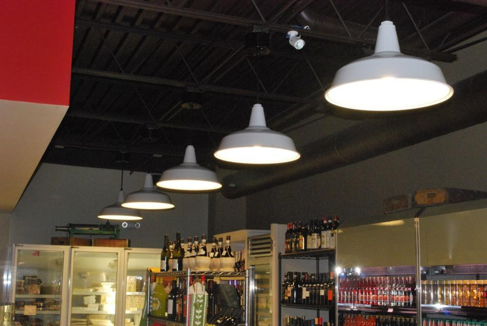 Bock Lighting's standard dome is spun from heavy gauge aluminum with a rolled in bead.