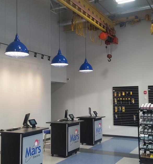 Bock Lighting's downlight reflector light fixtures come in plenty of custom sizes and colors to go along with any branding.