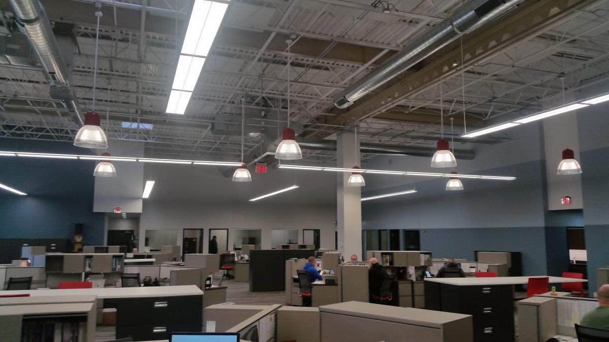 The downlight reflector, by Bock Lighting is the perfect option for a large space.