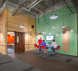 bock lighting paradigm office meeting space