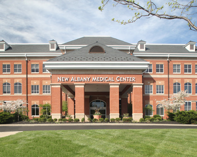 New Albany Medical Center had The Belden Brick Company use their USA Made brick for the exterior.