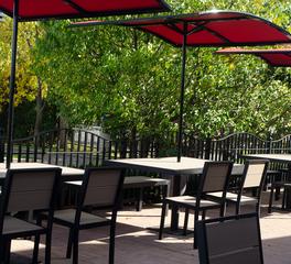 Cafe Patio Plymold Aurora Series Minneapolis MN