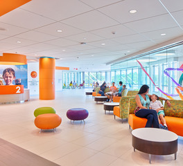 CaraGreen Durat Orange Countertop Hospital