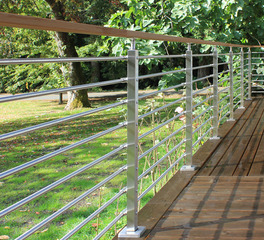 Cascadia AGS Stainless deck railings