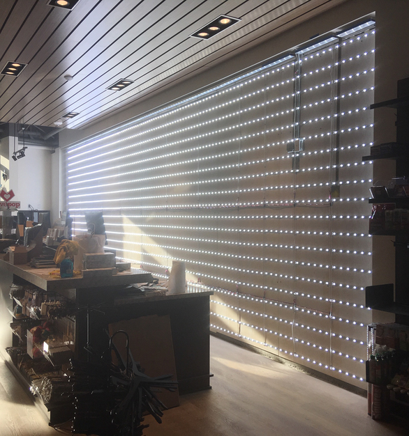 The LUXMESH™ LED Lattice lights offer outstanding brightness and strong color rendering.   They have an energy efficient design and are exceptional for backlighting large format graphics, such as the large map of Catalina Island at the Conservancy.