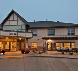 CBS Construction Services Inc Elim Bismarck Baptist Health Care Center Bismarck North Dakota Phase II Exterior Door Entrance and Patio