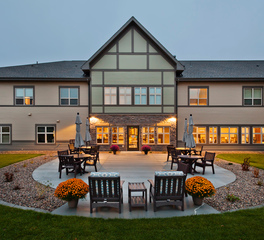 CBS Construction Services Inc Elim Bismarck Baptist Health Care Center Bismarck North Dakota Phase II Outdoor Patio