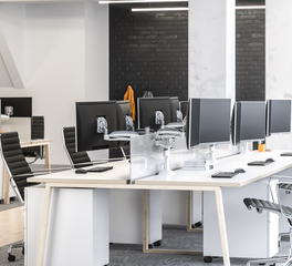 Chief open office space group work stations