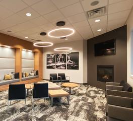 Circle Lighting | Lenae Design | Dental Office