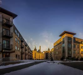 Civil site group grainbelt apartments exterior design