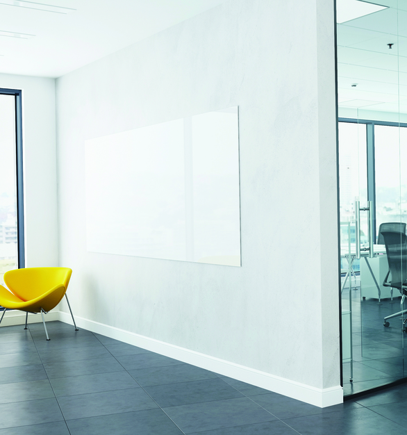"Claridge Glass dry erase markerboards are stylish, functional and easy to maintain. Made from 1/4"" low-iron, ultra-clear glass for exceptional clarity, Claridge Glass is available in 10 standard colors and over 180 optional powder coat colors, with three different mounting options. Standard sizes range from 2' x 3' up to 5' x 10'"
