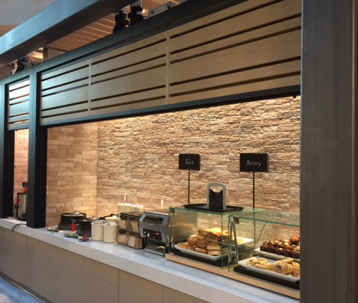 Vertical Sliding Units offer ideal visual communication solutions where large visual display surfaces are required but space is limited.