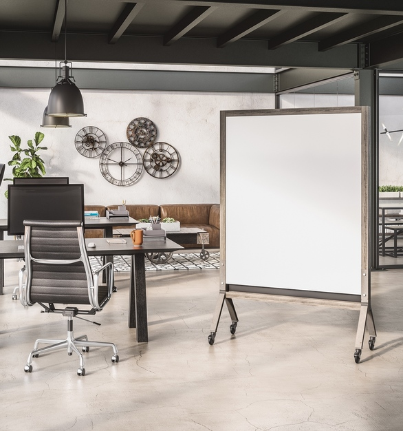 Claridge Products' new MIX line provides a highly customizable and mobile markerboard that allows co-workers and peers to easily collaborate and work together on projects.