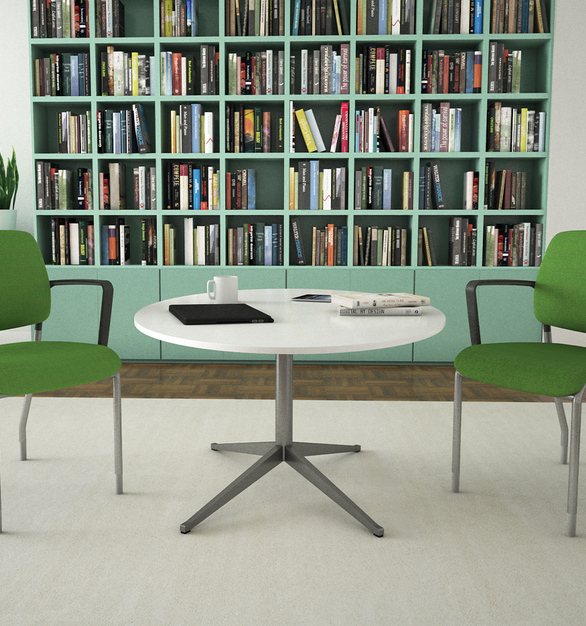 With a lightweight frame and lean profile, Clary makes portability and smart space planning easy. Available in mesh or upholstered back, Clary complements 9to5 Seating's popular task chairs Neo, Neo Lite, Vault, Theory, and Aria in any contemporary private office, flexible workspace, and desk areas.