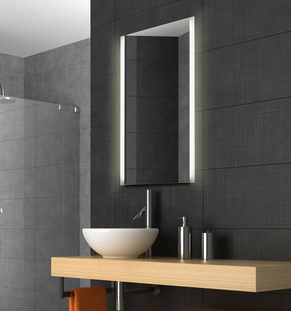 The ClearLite mirror by ClearMirrow was created with hotel designers and architects in mind, and being built in America, they can be customized to your exact specifications and requirements.