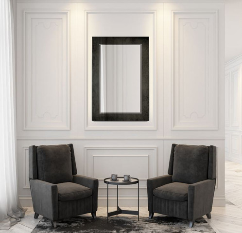 All of the Studio Series mirrors by ClearMirror are custom made, and hand built in the United States to your exact specifications. Hundreds of other types of glass matting and surface mirror, including custom sizes and shapes are available