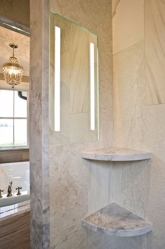Incorporate ShowerLite by ClearMirror into your next hospitality or senior living project to add the most luxurious and unique experience possible.