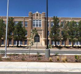 Climate Seal Crockett Elementary School exterior windows