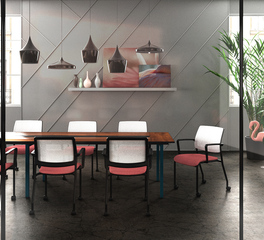 conference room seating 9to5 clary
