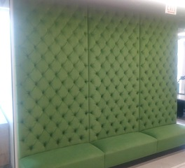 contract industries Vequity custom booth