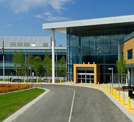 Cornerstone General Contractors Veterans Affairs Outpatient Clinic Exterior Entry