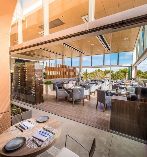 Dining spots in California want to take advantage of the year-round beautiful weather. Cover Glass USA has plenty of glass options that make it seamless to open or close a wall to enjoy the weather.