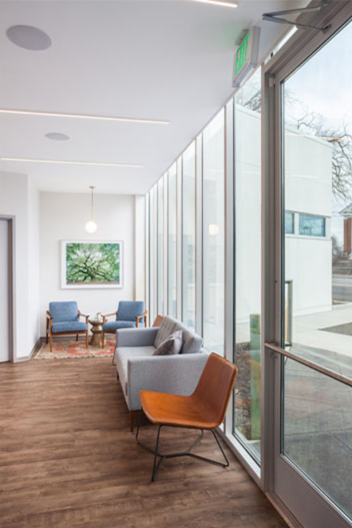 Recovery Room Design: Robbins Plastic Surgery