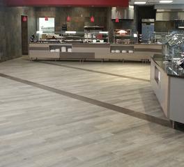Crossville Bayor School Guerry Dining Hall Interior Cafeteria Design