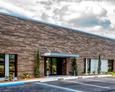 Discover how Crossville provided the right solution to achieve an exterior wood look in a climate for which the real thing wasn't an option.
