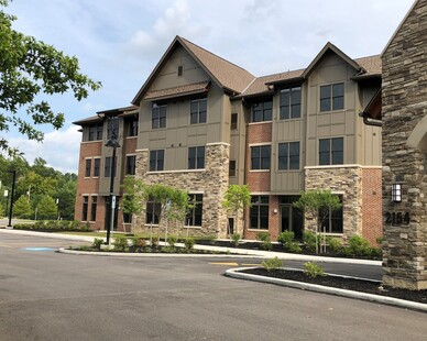 The Lutheran Home at Concord Reserve uses Cultured Stone's Country Ledgestone in Bucks County.
