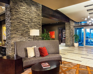 Cultured Stone The Stateview Hotel entrance