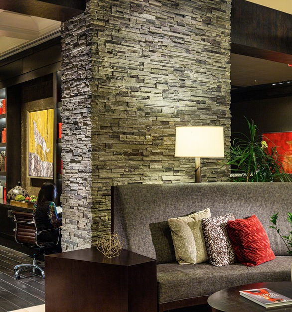 Cultured Stone The Stateview Hotel lobby view