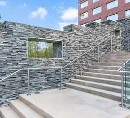 Cultured Stone The Stateview Hotel stairway