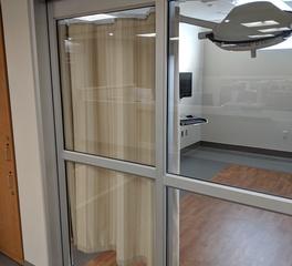 custom cube Cubicle Curtains exam room