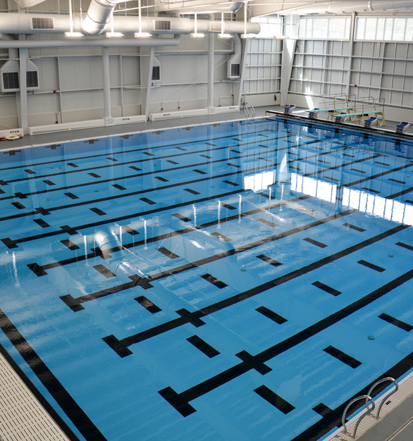 The Boston Sports Institute believes sports are for all ages. The acquisition of an Olympic trial pool resulted in an opportunity to build a multi-use athletic facility consisting of 2 NHL rinks, 2 pools, spectator seating, an indoor turf field, and a physical therapy/strength conditioning area.