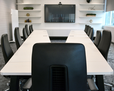 Dacon Global Logistics Provider conference room
