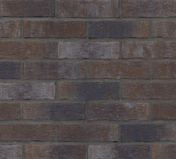 Thin brick inspired by the painting of historical, full of mystery, inaccessible and dark fortress, rising majestically above the rocky cliff shrouded in fog. Delicate, light accents of natural thin brick with grey shades make universal color suitable to any style of architecture.