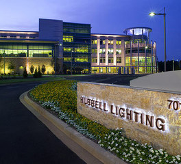 Darkhorse Lightworks Hubbell Lighting Headquarters exterior
