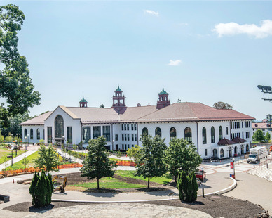 Exterior View of Montclair State University in Montclair, New Jersey Photography Credit: Bernstein Associates Photographer