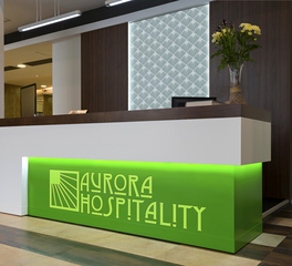 Decorative Ceiling Tiles DECO FROSTED POLYCARB HOSPITALITY RECEPTION DESK